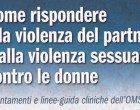 Linee guida per il supporto alle donne vittime di violenza – Recensione