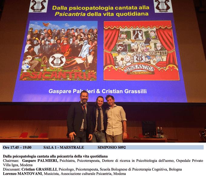 Psicantria - Ballata del Cognitivismo - Congresso SITCC 2014