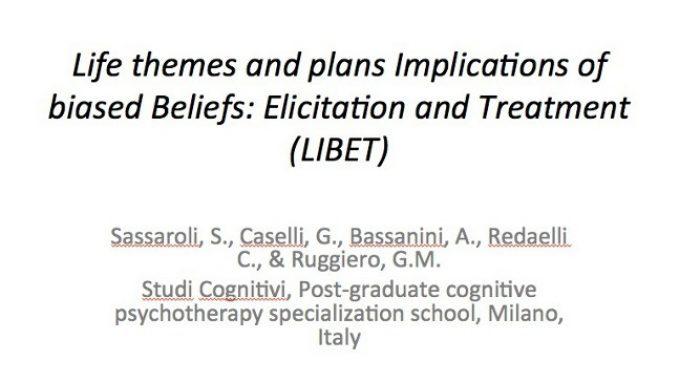 Il Modello LIBET in Psicoterapia: presentazione al Congresso APA 2014 – Washington DC