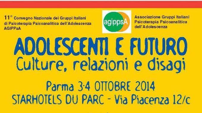 Adolescenti e futuro: culture, relazioni e disagio – XI Convegno Nazionale dei Gruppi Italiani di Psicoterapia Psicoanalitica dell'Adolescenza