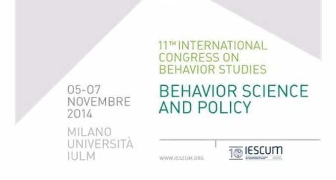 Behavior Science and Policy: XI Edizione dell'ICBS – Congresso Internazionale delle Scienze del Comportamento