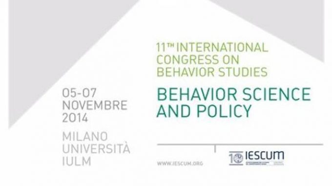 Behavior Science and Policy: XI Edizione dell'ICBS – Congresso Internazionale delle Scienze del Comportamento