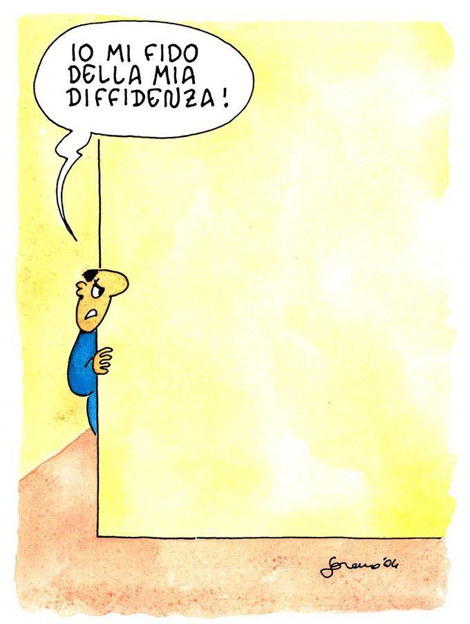 Paranoia - Illustrazione di Lorenzo Recanatini - Alpes Editore