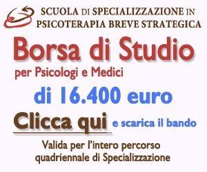 BREVE STRATEGICA - BORSA DI STUDIO fino a 5 gennaio 2015