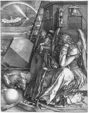 Albrecht Durer - Melancholia I - 300px