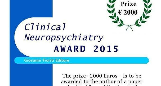 Bando ricerca: Clinical Neuropsychiatry Award 2015