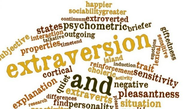 Due tipi di estroversione:  affiliative extraversion e agentic extraversion