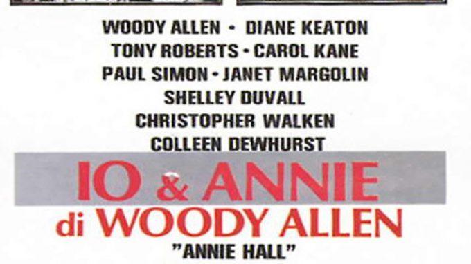 Woody Allen, Io e Annie (1977) & il percorso psicoanalitico