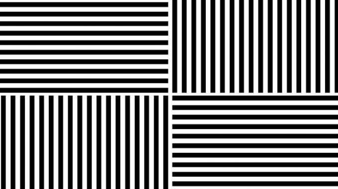 Effetto McCollough: un gioco di linee che altera la percezione dei colori