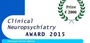 Clinical Neuropsychiatry Award: premio in palio per il miglior contributo di ricerca alla pratica clinica psichiatrica