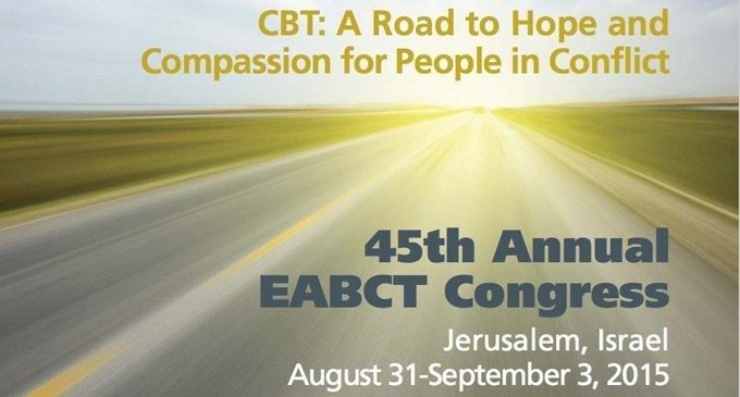 45esimo Congresso Annuale EABCT – Gerusalemme