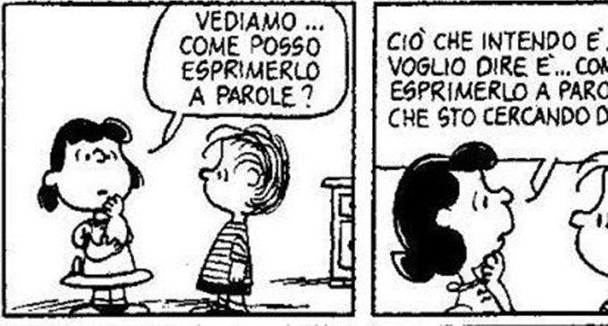 Lucy e la rabbia: quanto è difficile esprimere le emozioni! – Rubrica Peanuts (02)