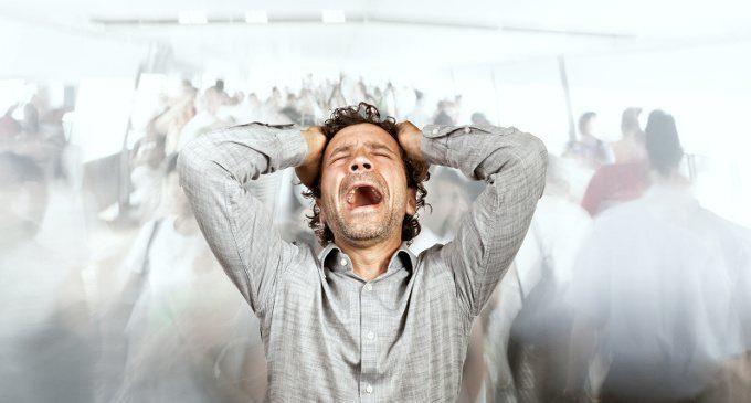 Risultati immagini per panico e agorafobia