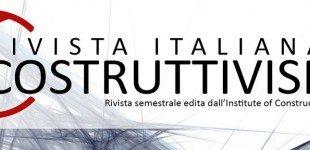 Rivista Italiana di Costruttivismo – è online il quarto numero