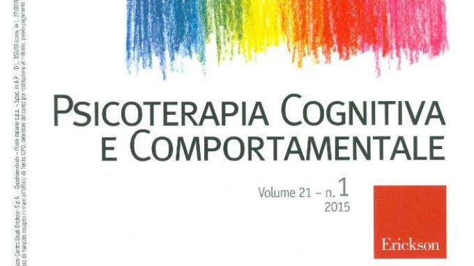 La rivista italiana Psicoterapia cognitiva e comportamentale: cos'è?