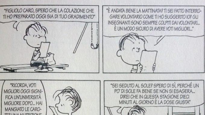 Linus, il controllo genitoriale e il senso di colpa – Peanuts Nr. 04