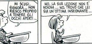 Quando addormentarsi a scuola è una malattia: Piperita Patty e la Narcolessia – Peanuts Nr.5