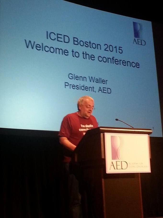 Report dal Congresso ICED 2015 International Conference on Eating Disorders - Boston, 23-25 Aprile 2015_GLENN WALLER