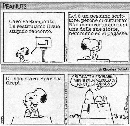 Snoopy riconoscere i propri limiti - PEANUTS Nr. 03