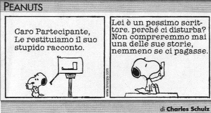 Snoopy e l'insuccesso: riconoscere i propri limiti – Peanuts (03)