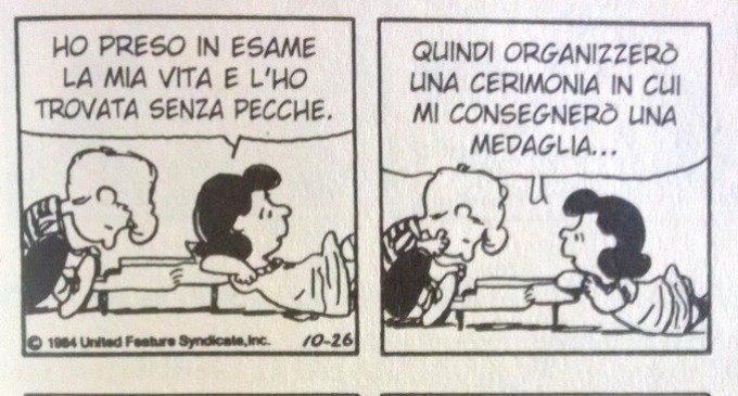 Lucy e i tratti narcisistici di personalità – Peanuts Nr. 08