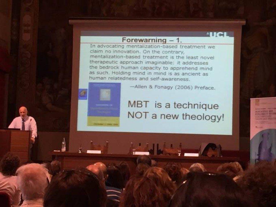 Mentalizzazione e disturbi di personalità – Bateman & Fonagy a Pavia