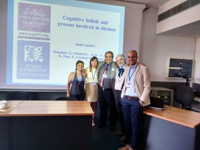 Timidezza definizione componenti cognitive e trattamento - Report dal XIV Congresso Europeo di Psicologia