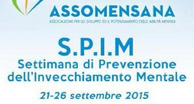 S.P.I.M. Settimana di Prevenzione dell'Invecchiamento Mentale