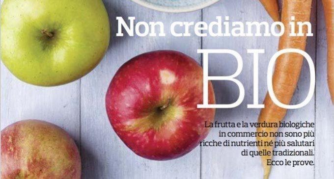 Non crediamo in bio: il cibo come fede – L'editoriale di Altroconsumo