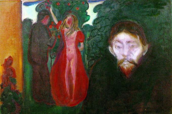 Gelosia - un articolo di Giancarlo Dimaggio_Edvard Munch