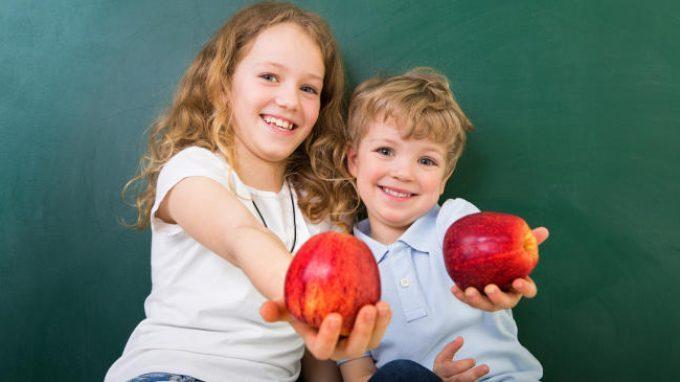 Mangiare bene: un'abitudine che si impara da piccoli