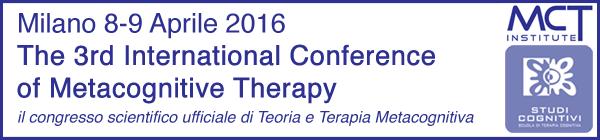 Congresso di Terapia Metacognitiva Milano 2016