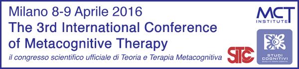 Congresso Internazionale Terapia Metacognitiva Milano 2016