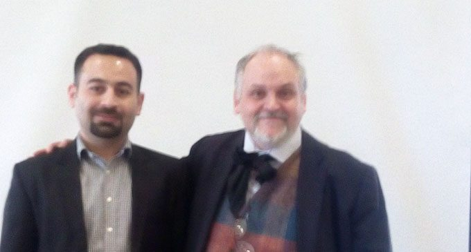 Giovanni Maria Ruggiero e Rawezh Ibrahim, lecturer at Raparin University