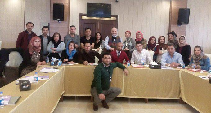 Supervisione di Psicoterapeuti curdi presso la Jiyan Foundation a Sulaymaniyah nel Kurdistan iracheno (2016)