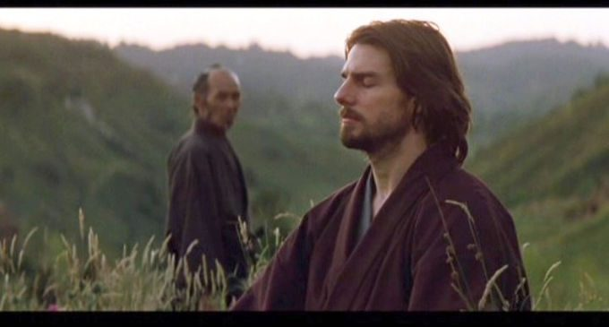 L'ultimo samurai:meditazione