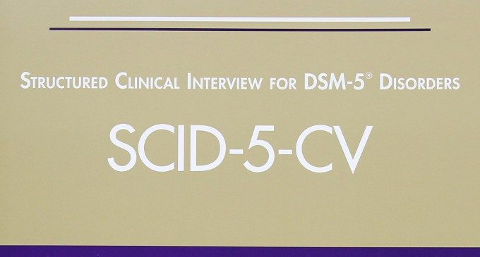 STRUCTURED CLINICAL INTERVIEW FOR DSM-5 DISORDERS SCID-5-CV - FIRST, MICHAEL B.,