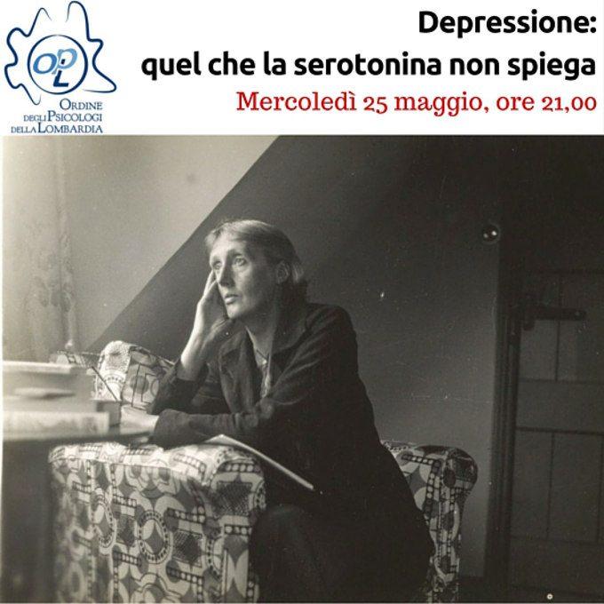 webinar La depressione quel che la serotonina non spiega