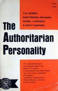 Adorno - The Authoritarian personality