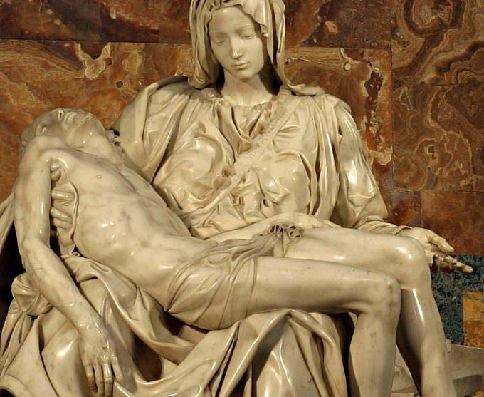 Il Sogno compassionevole di Jan Fabre - pieta michelangelo