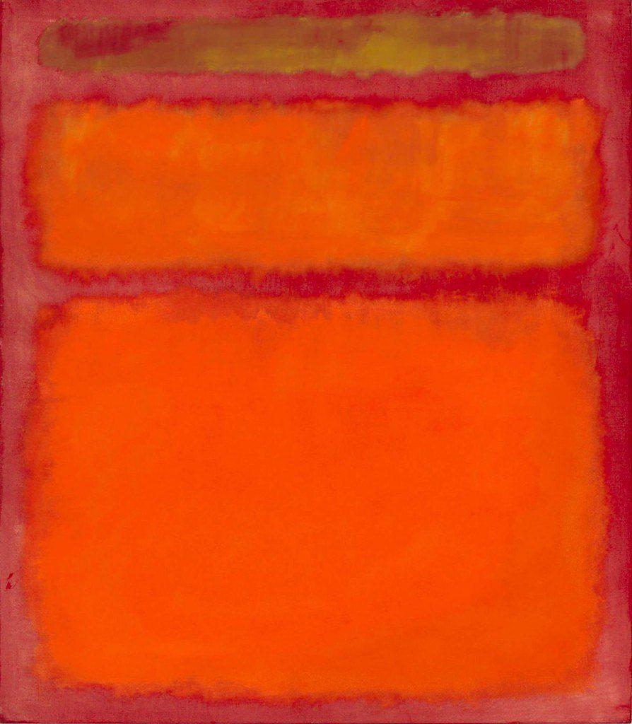 Orange Red Yellow - Mark Rothko - 1961