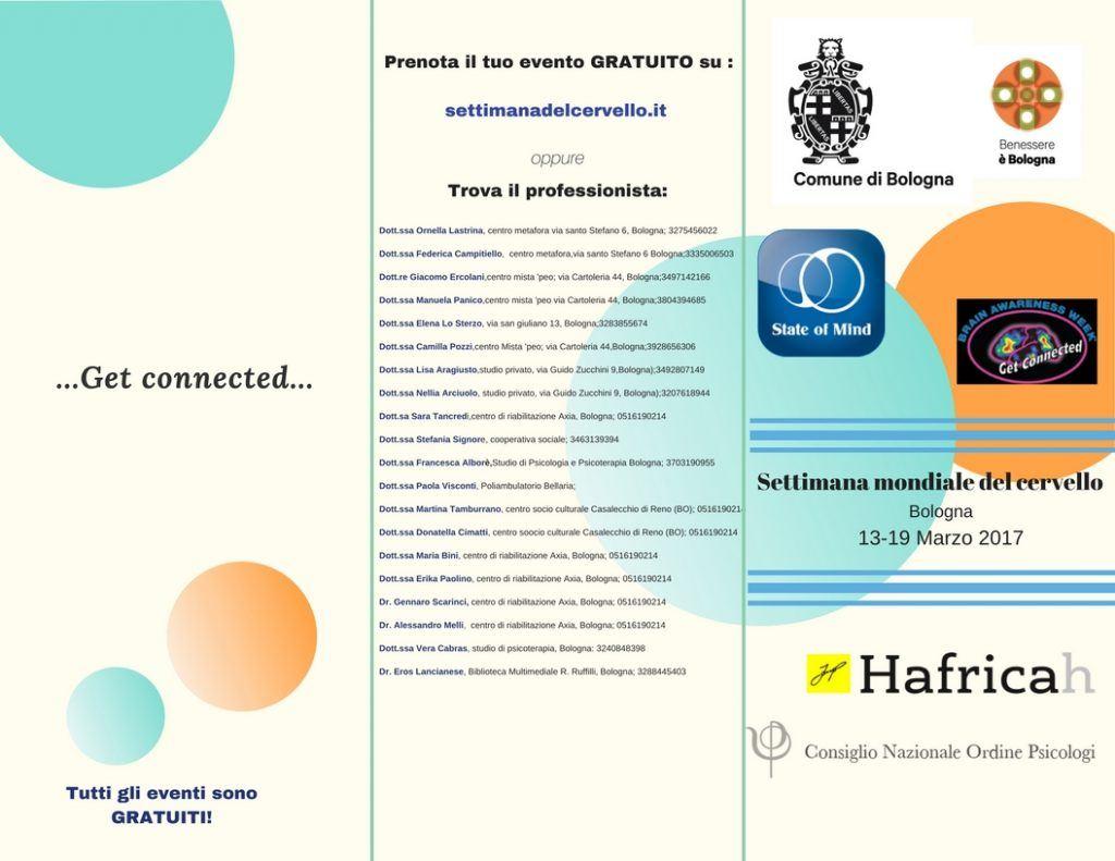 Settimana Mondiale del Cervello - Bologna 13-19 Marzo 2017
