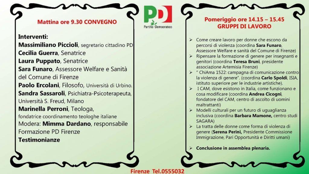 Convegno Femminicidio Firenze - 25 Marzo 2017 - 2