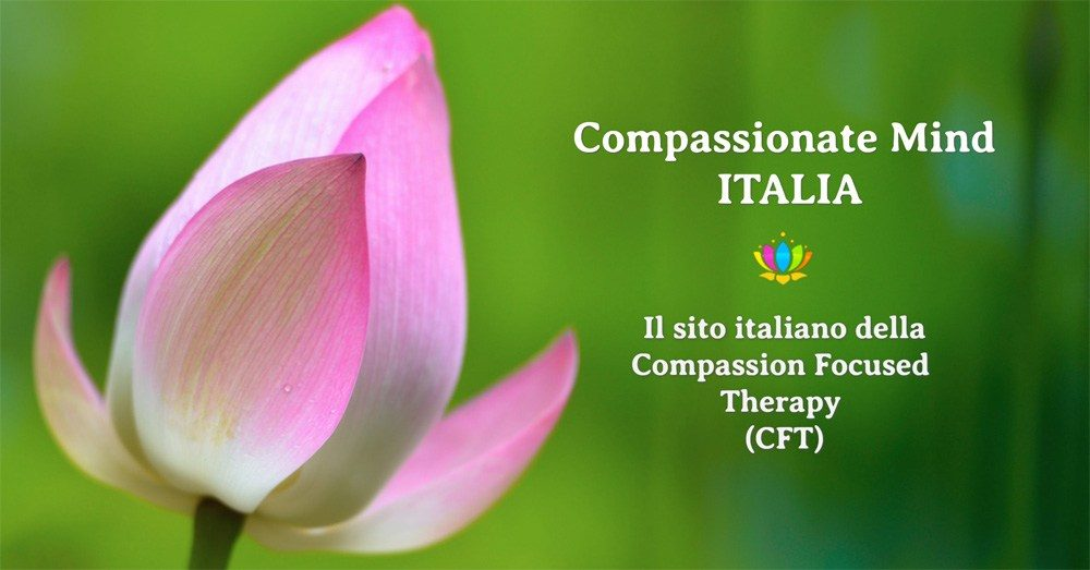 Compassion Focused Therapy - Training Base Firenze