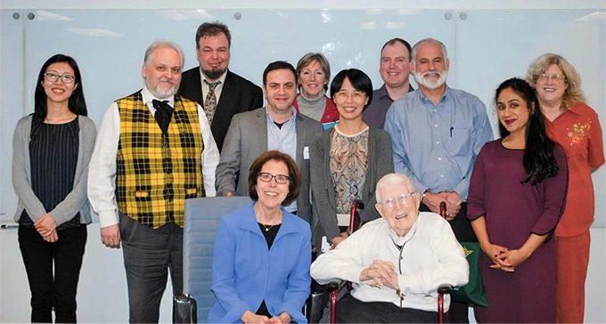 Foto di gruppo al Beck Institute di Philadelphia - Il corso sull'ansia al Beck Institute di Filadelfia