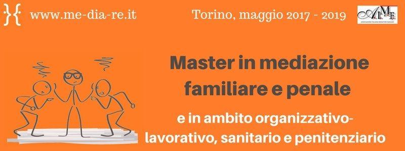 Master in mediazione familiare e penale - Associazione Me.Dia.Re