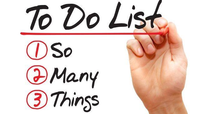 To do list: do a list! – Dare un ordine ai compiti da svolgere ci rende più produttivi?
