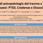 Trauma, PTSD, credenze e dissociazione uno studio a cavallo tra 4 paesi