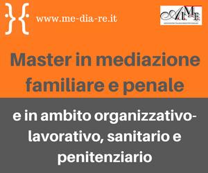 Me.Dia.Re - Master Mediazione 2017-2018
