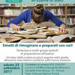 Corso di preparazione all' Esame di Stato per l'abilitazione alla professione di psicologo - Firenze, 23 Settembre 2017